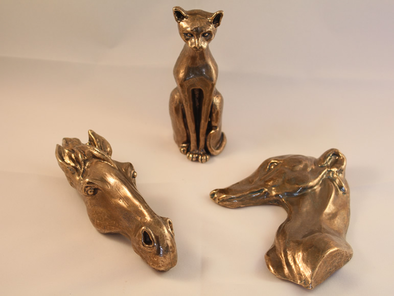 Bronze art castings