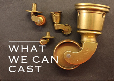Devon Metalcrafts: What we can Cast