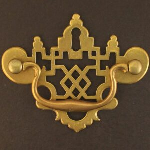Trellis Pierced Escutcheon Handle